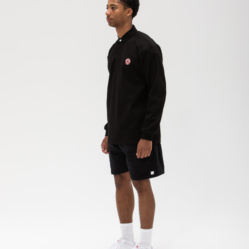 UNDEFEATED PANELED L/S RUGBY - BLACK Image 6