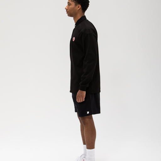 UNDEFEATED PANELED L/S RUGBY - BLACK Image 7