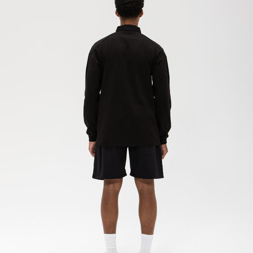 UNDEFEATED PANELED L/S RUGBY - BLACK Image 8