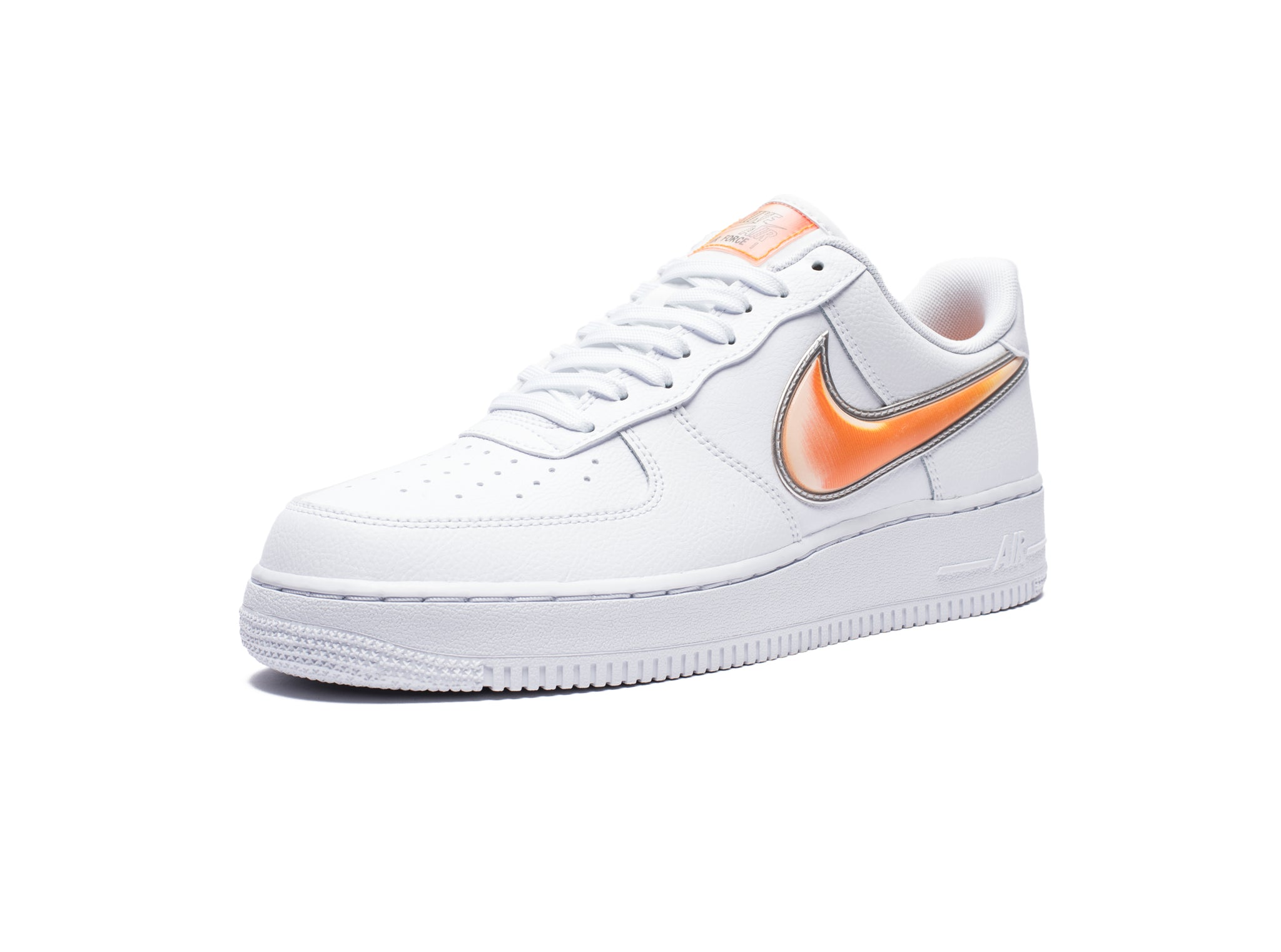 AIR FORCE 1 '07 LV8 3 - WHITE/ORANGEPEEL