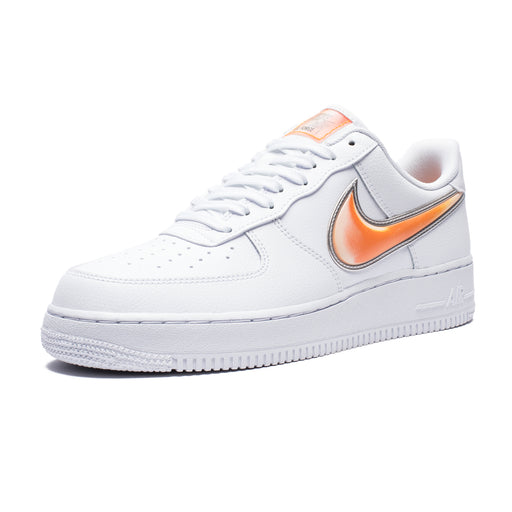 AIR FORCE 1 '07 LV8 3 - WHITE/ORANGEPEEL Image 1