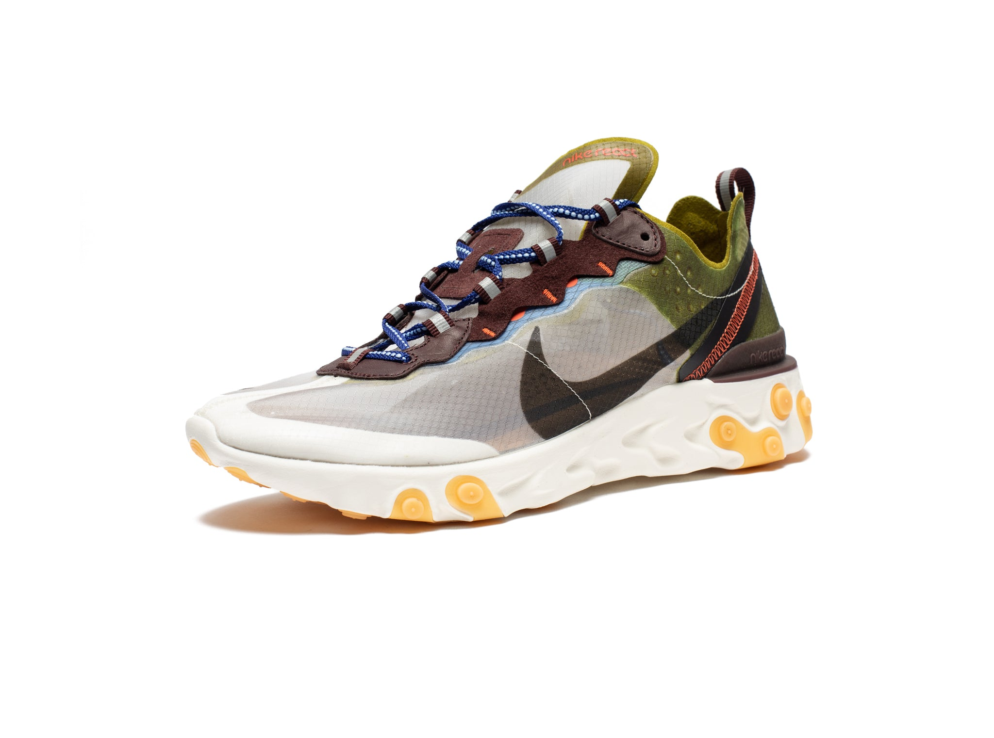 REACT ELEMENT 87 - MOSS/BLACK/ELDORADO/DEEPROYALBLUE