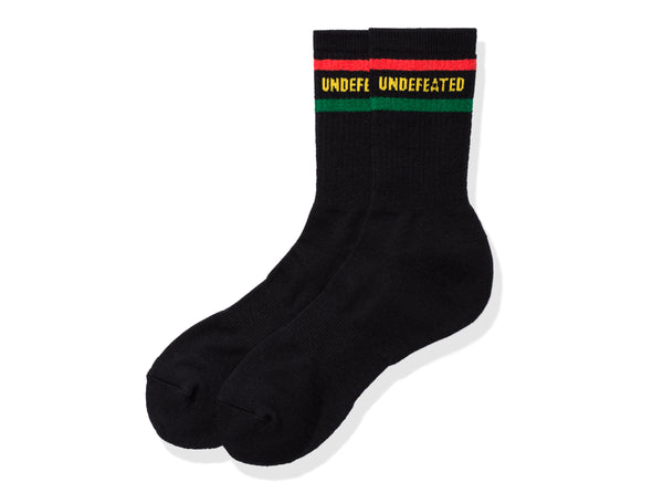 best service 10f08 51776 UNDEFEATED LOGO SOCK - CREW