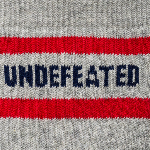 UNDEFEATED LOGO SOCK - CREW Image 8
