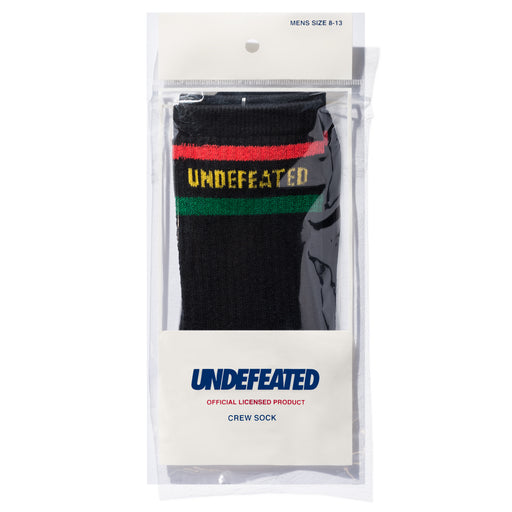 UNDEFEATED LOGO SOCK - CREW Image 4