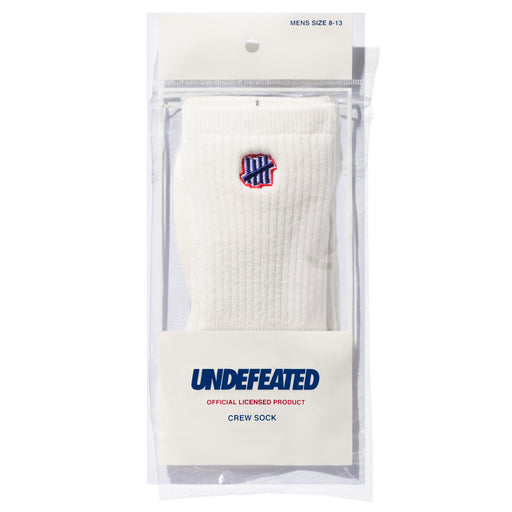 UNDEFEATED LOGO SOCK - CREW Image 14