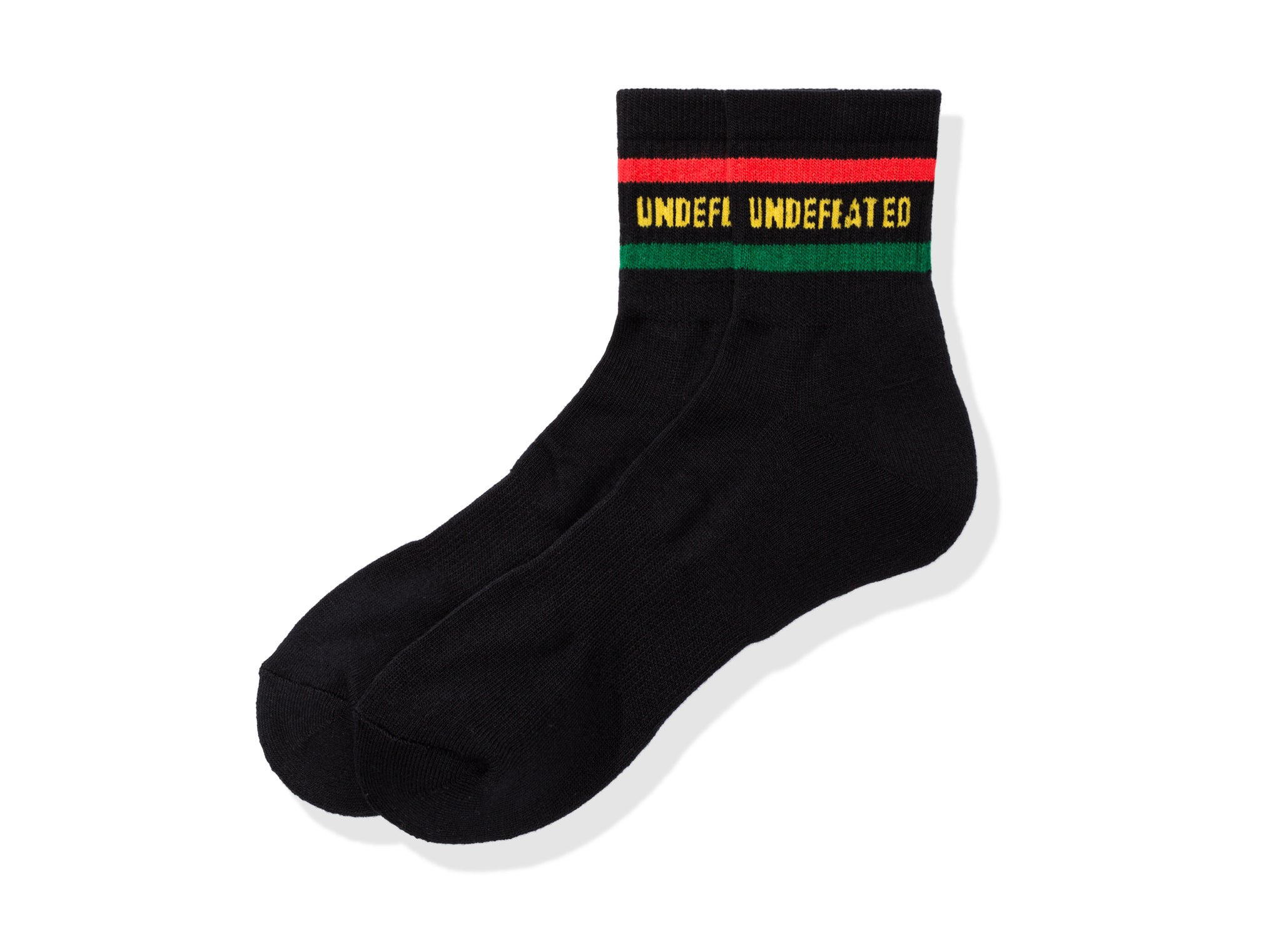 UNDEFEATED LOGO SOCK - QUARTER