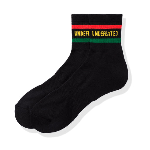UNDEFEATED LOGO SOCK - QUARTER Image 1