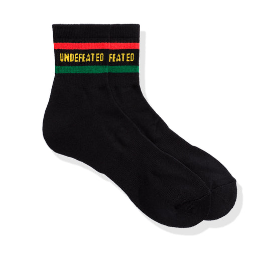 UNDEFEATED LOGO SOCK - QUARTER Image 2