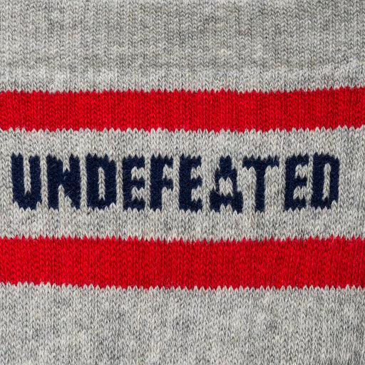 UNDEFEATED LOGO SOCK - QUARTER Image 8