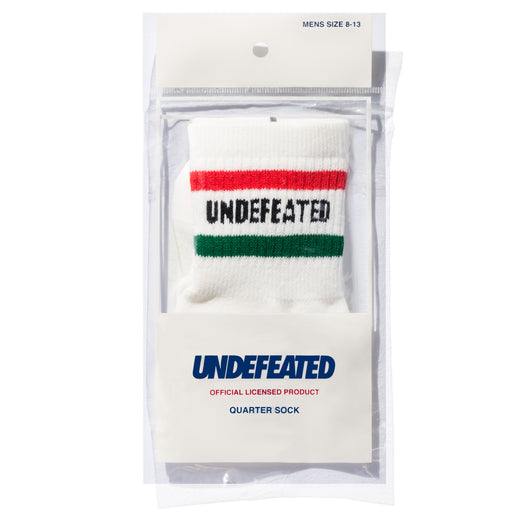 UNDEFEATED LOGO SOCK - QUARTER Image 14