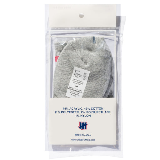 UNDEFEATED LOGO SOCK - QUARTER Image 10