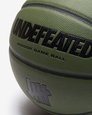 UNDEFEATED X WILSON LIMITED EDITION BASKETBALL - OLIVE