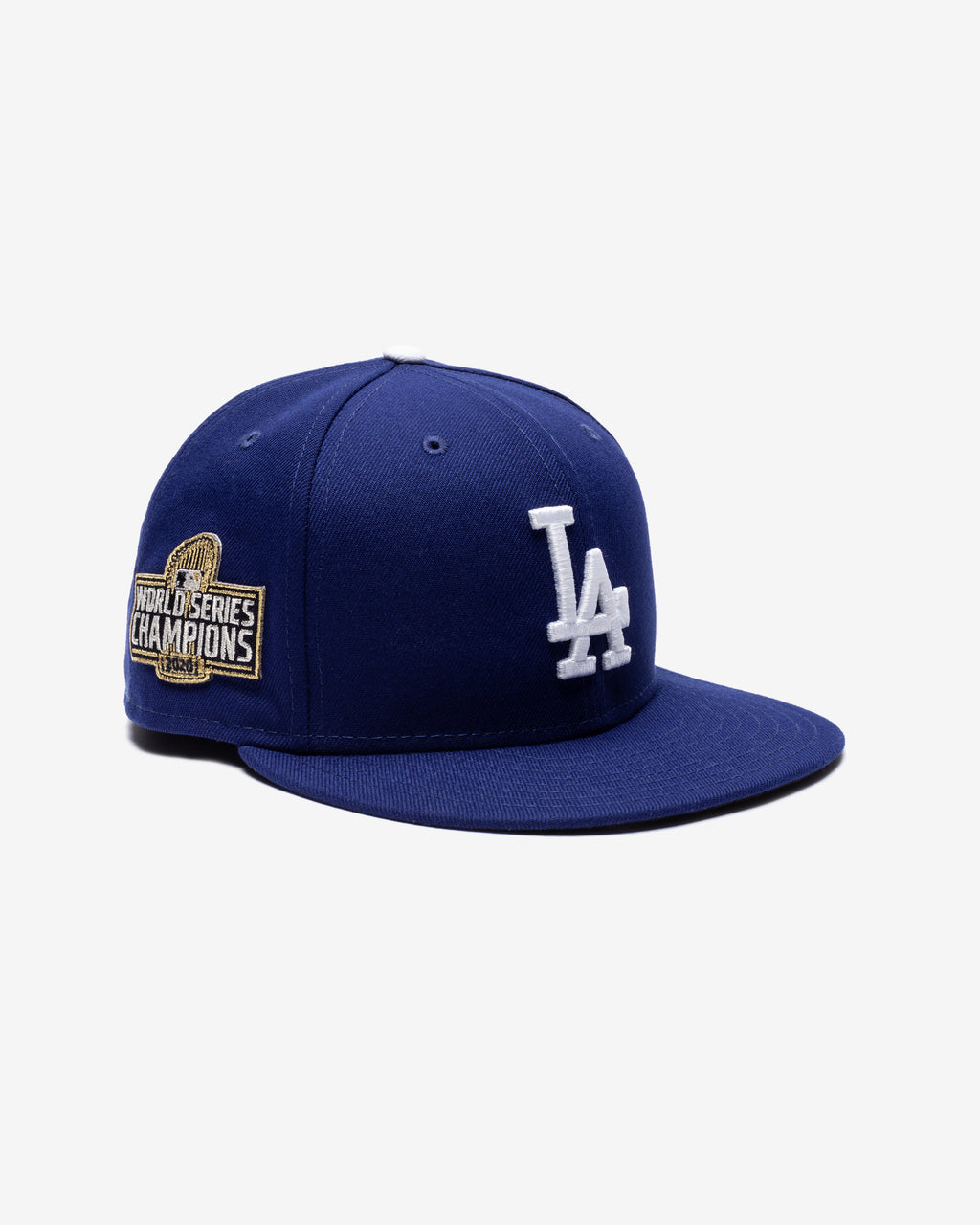 NEW ERA LA DODGERS WS CHAMPS SP FITTED - BLUE