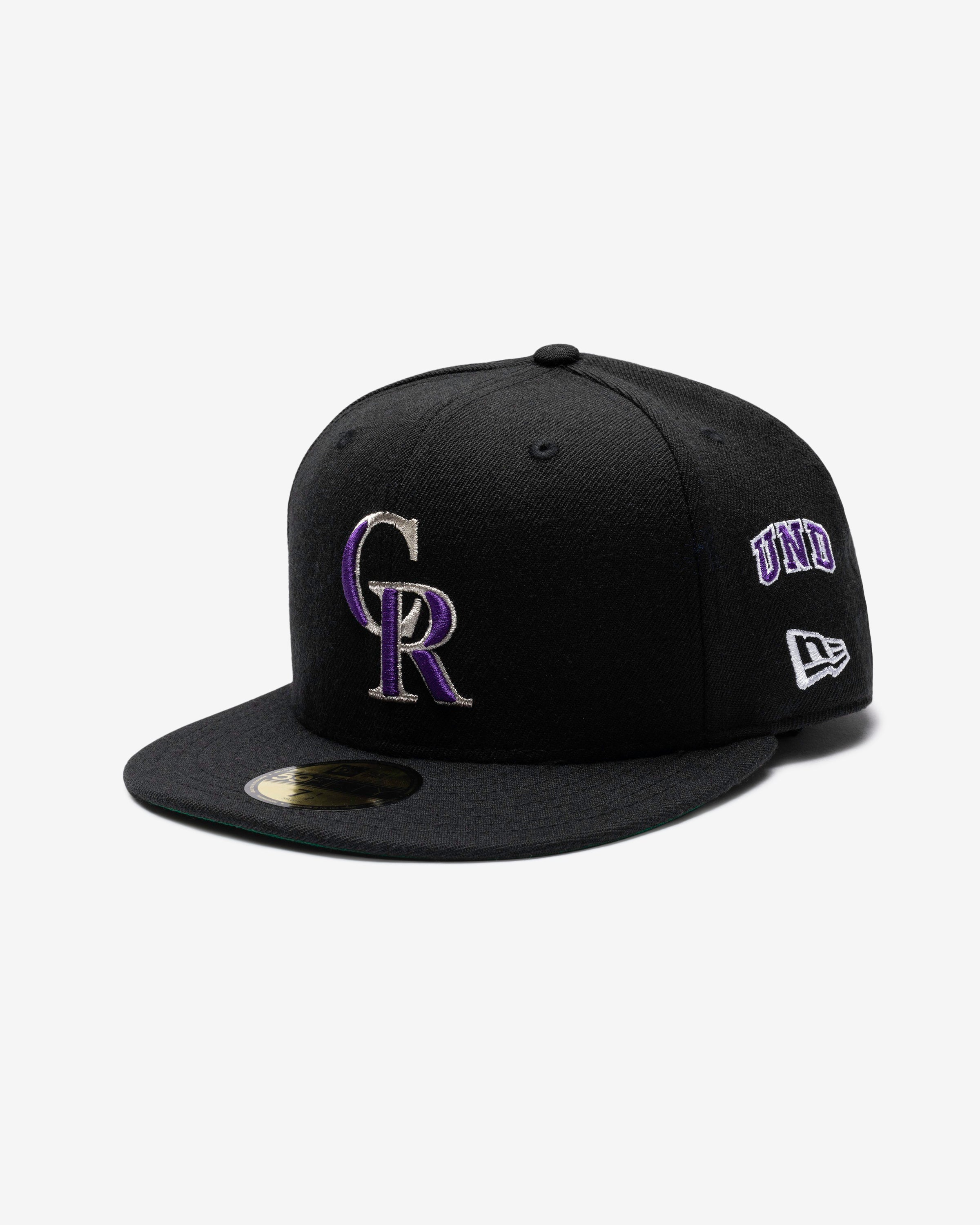 UNDEFEATED X NE X MLB FITTED - COLORADO ROCKIES
