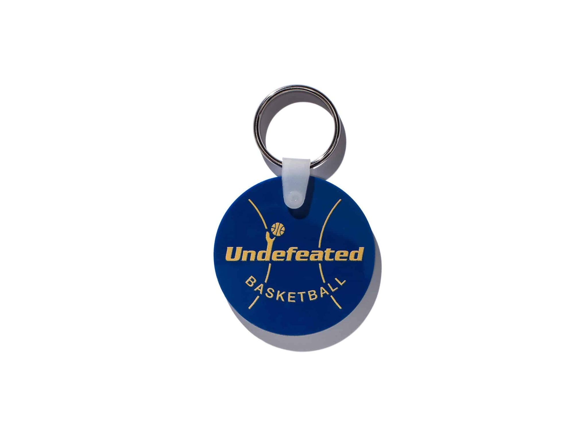 UNDEFEATED BASKETBALL KEYCHAIN