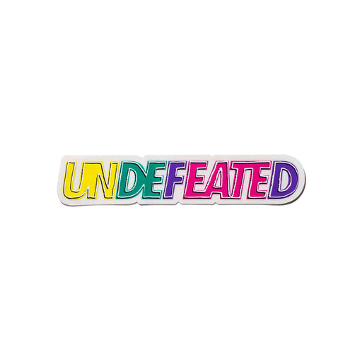 UNDEFEATED OUTLINE STICKER - MULTI Image 1