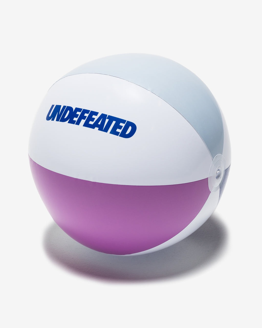 UNDEFEATED BEACH BALL - BLUE MULTI