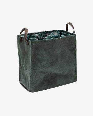 UNDEFEATED CANVAS HAMPER - OLIVE