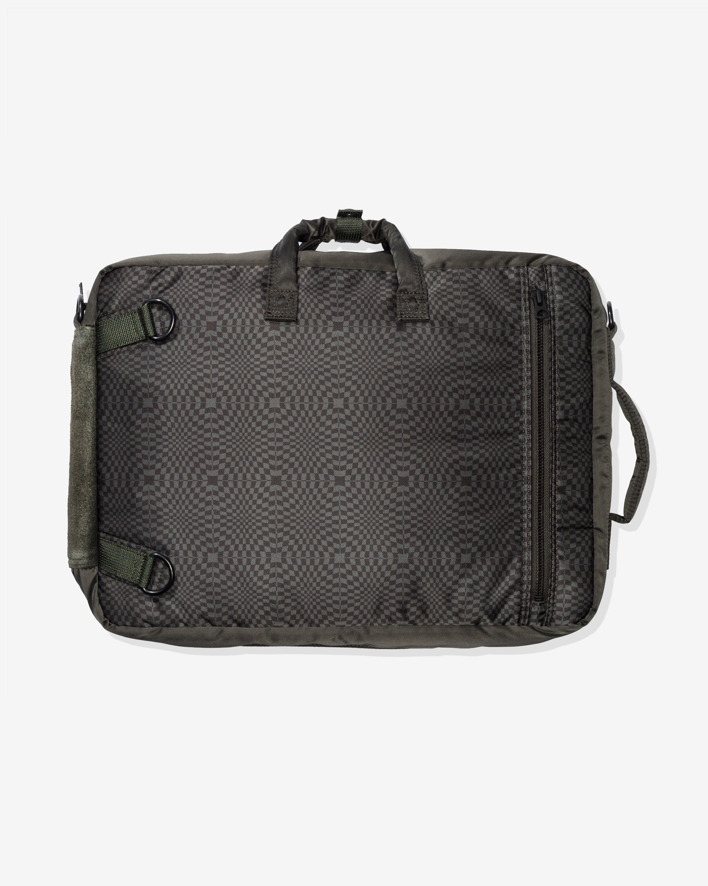 VANS X PORTER 3-WAY BRIEF CASE - FORESTNIGHT/ BLACKINK