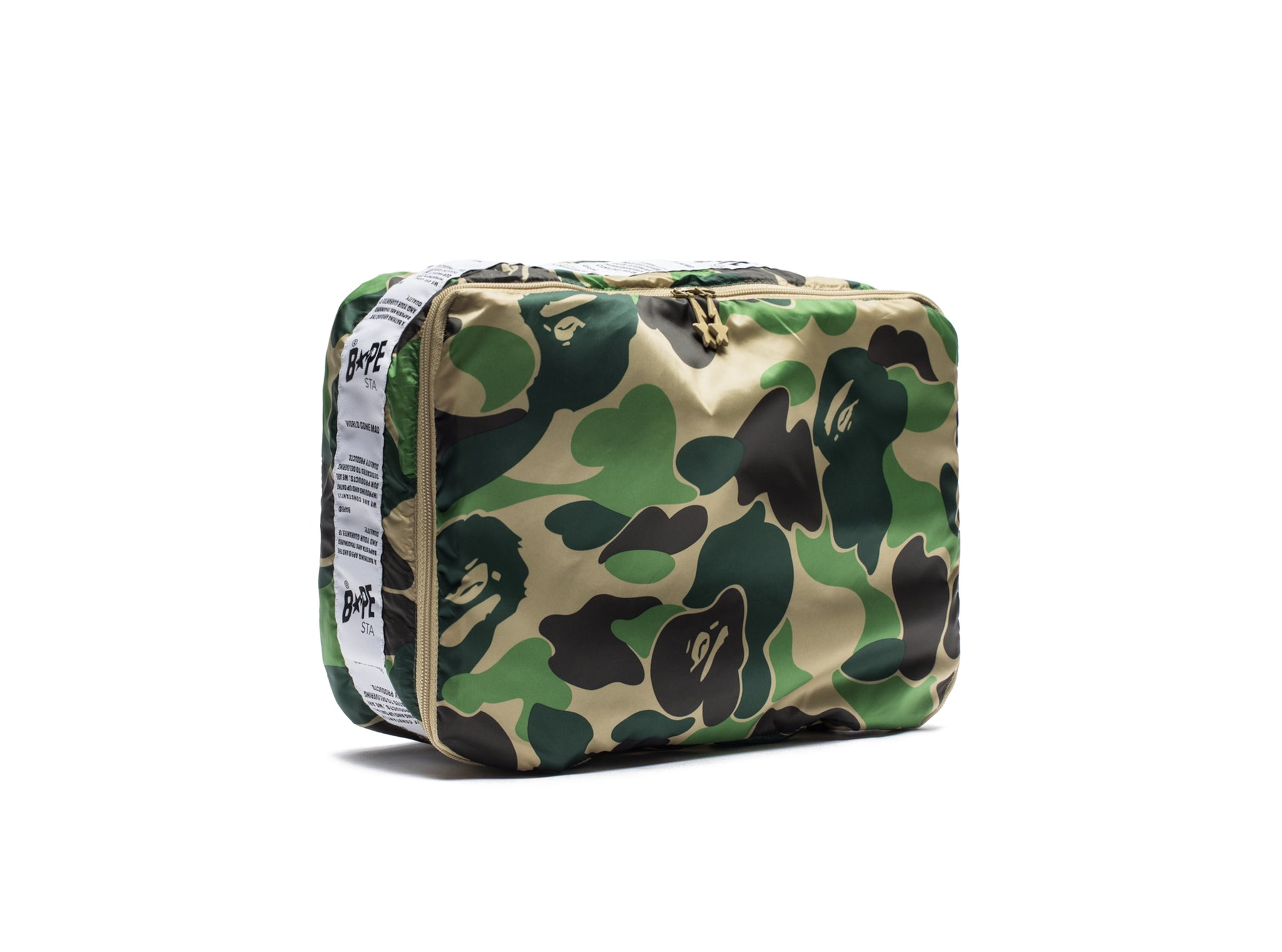BAPE ABC CAMO ASSORTMENT CASE (S) - GREEN