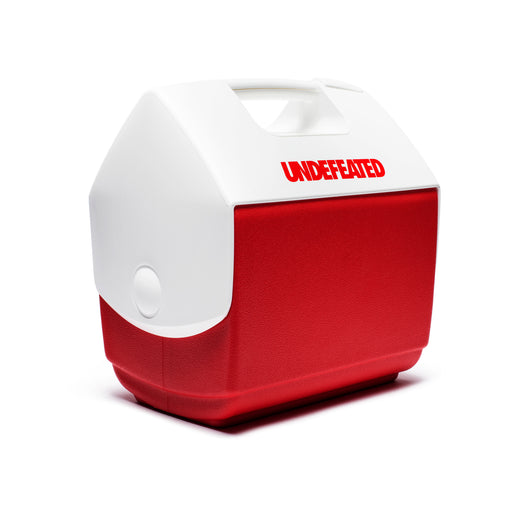 UNDEFEATED X IGLOO PLAYMATE® PAL COOLER - WHITE/RED Image 1