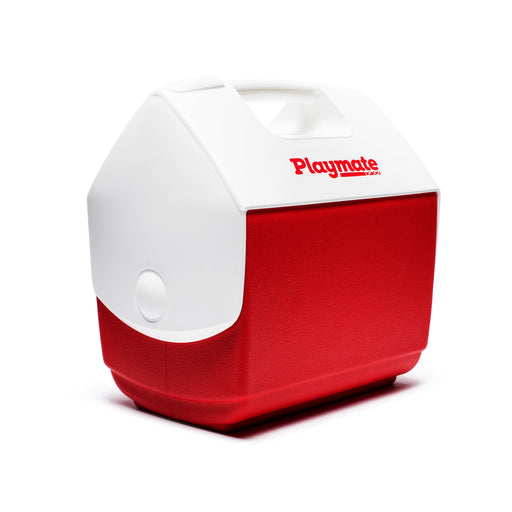 UNDEFEATED X IGLOO PLAYMATE® PAL COOLER - WHITE/RED Image 2