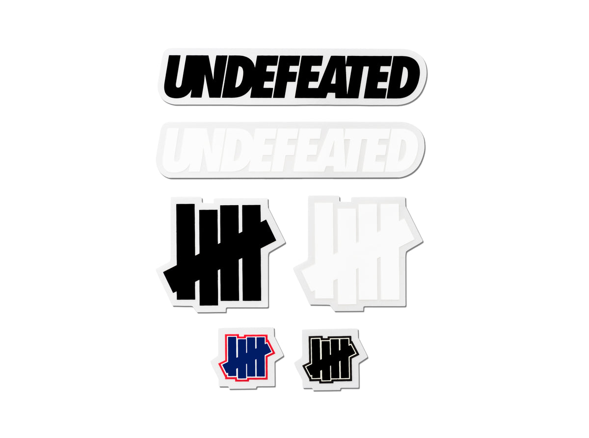 UNDEFEATED CORE STICKER PACK - MULTI