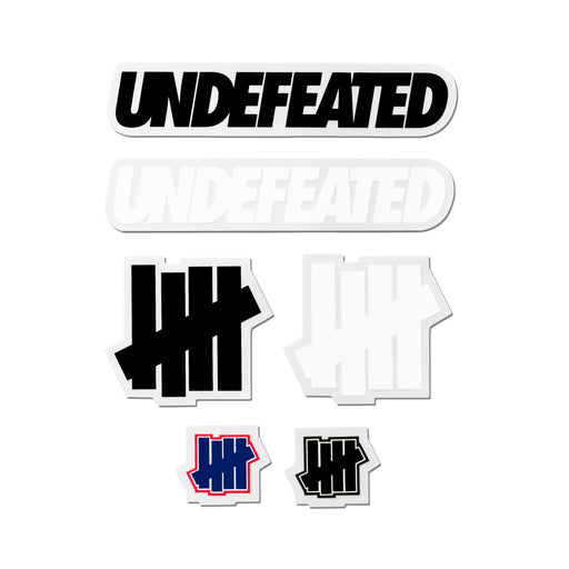 UNDEFEATED CORE STICKER PACK - MULTI Image 2