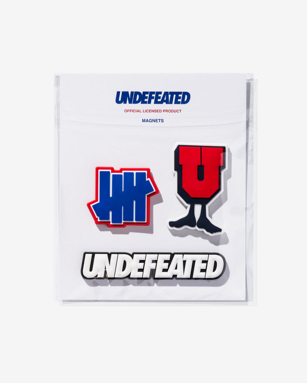 UNDEFEATED MAGNET SET - MULTI