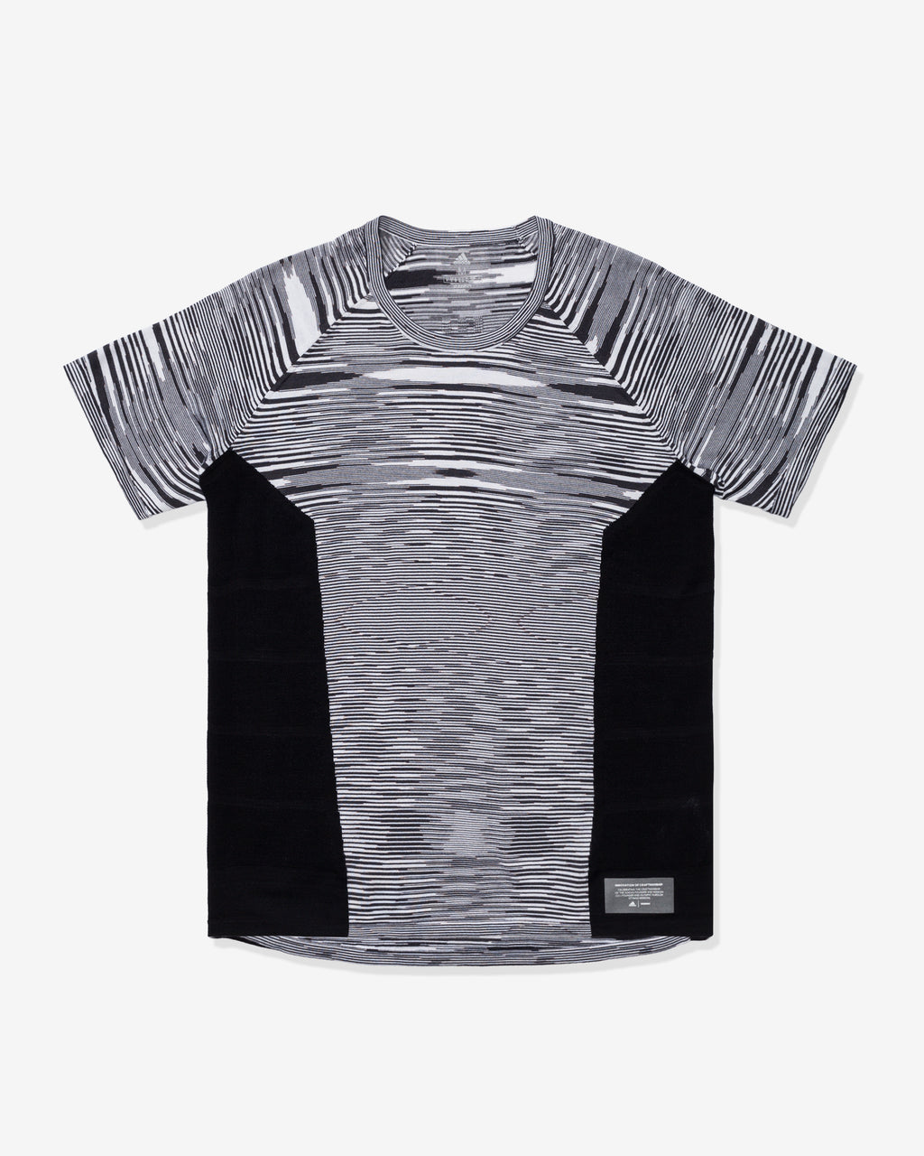 ADIDAS X MISSONI SUPERNOVA TEE - BLACK/DARKGREY/WHITE