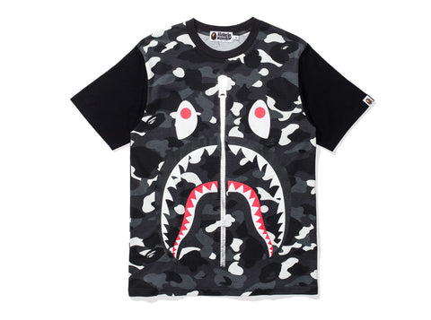 BAPE CITY CAMO BIG SHARK TEE