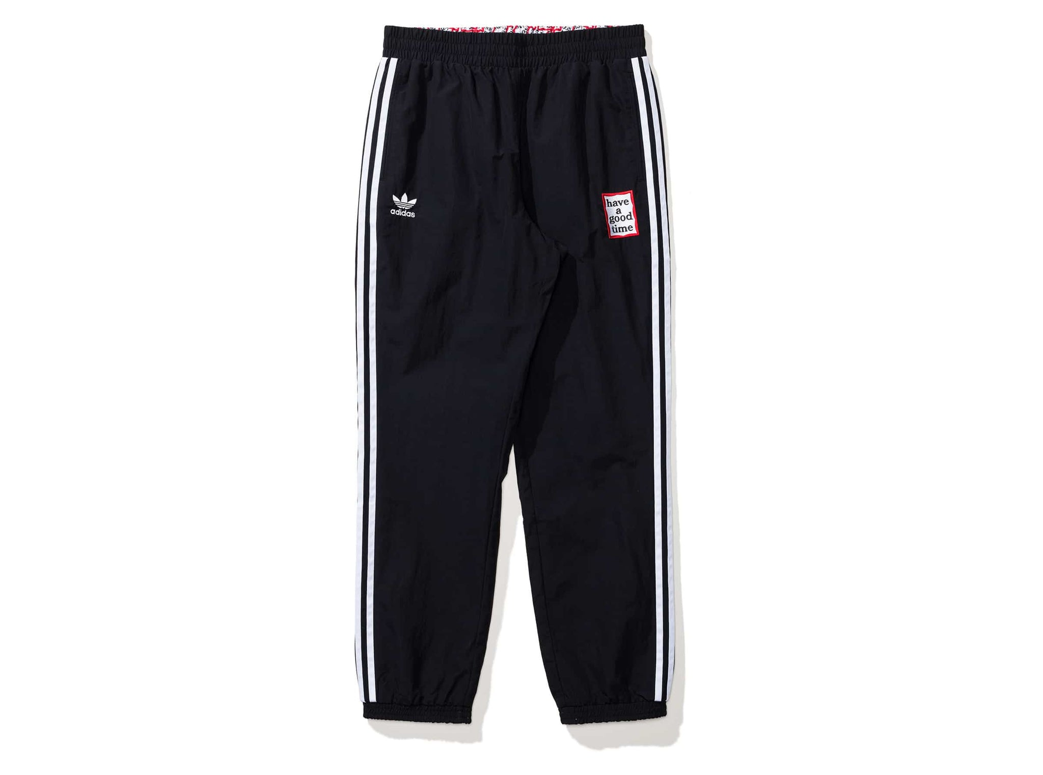HAGT REV TRACK PANTS - BLACK