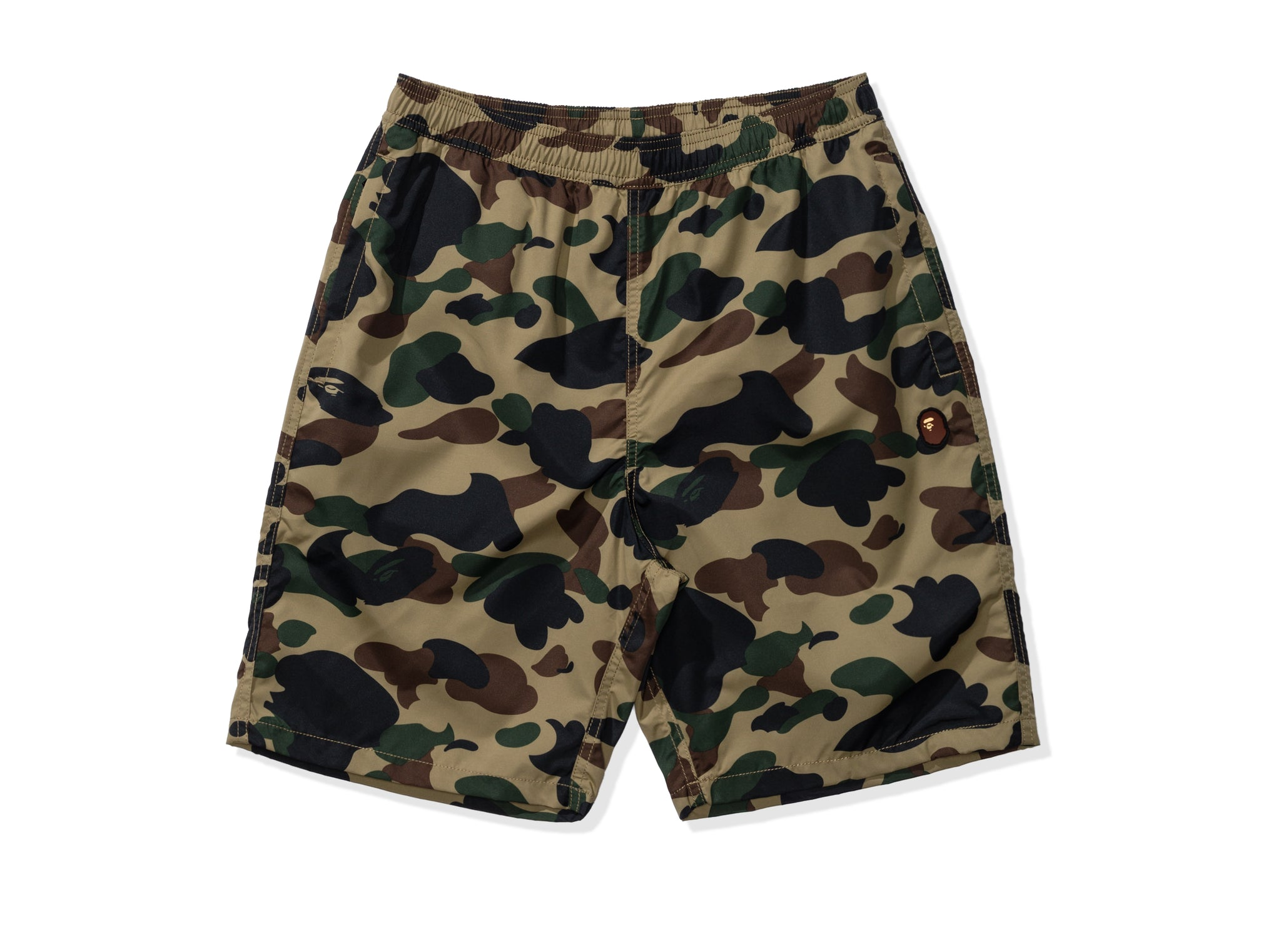 BAPE 1ST CAMO BEACH PANTS