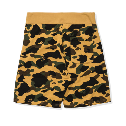 BAPE 1ST CAMO SHARK SWEAT SHORTS Image 4