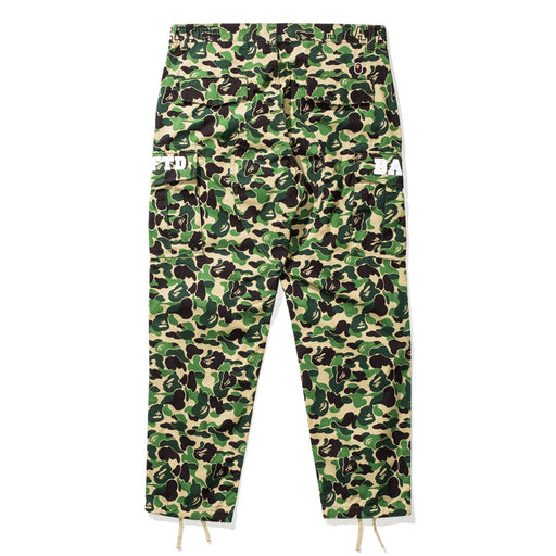 BAPE X UNDEFEATED ABC 6POCKET PANTS - GREEN Image 2