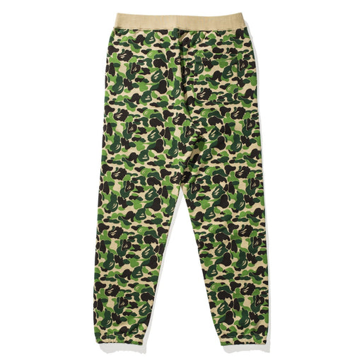 BAPE X UNDEFEATED ABC SWEAT PANTS - GREEN Image 2