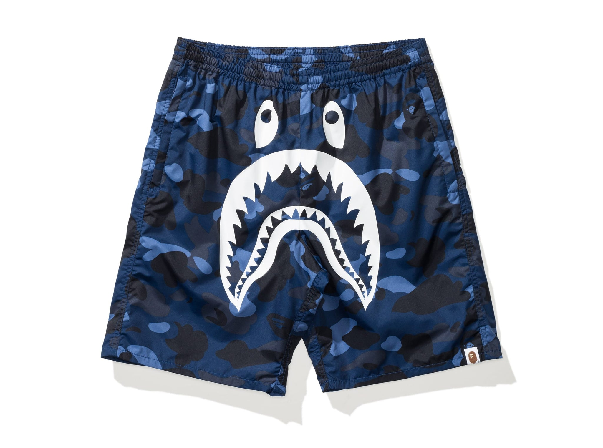 BAPE COLOR CAMO SHARK BEACH PANTS
