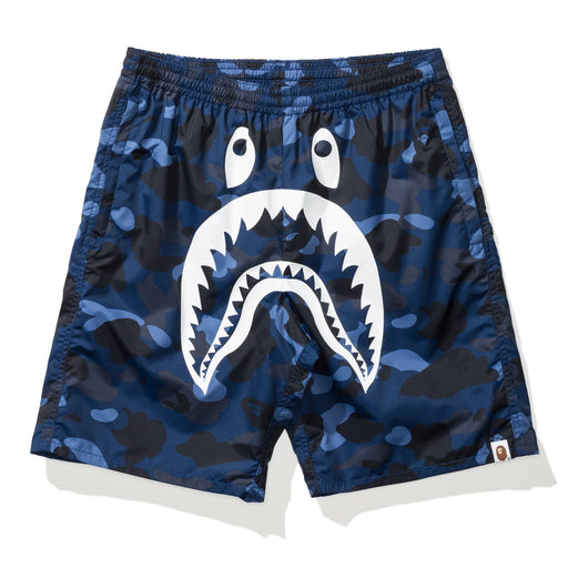BAPE COLOR CAMO SHARK BEACH PANTS Image 1