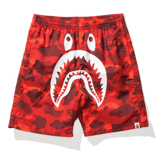 BAPE COLOR CAMO SHARK BEACH PANTS Image 5