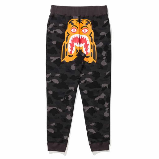 BAPE COLOR CAMO TIGER SLIM SWEAT PANTS Image 1