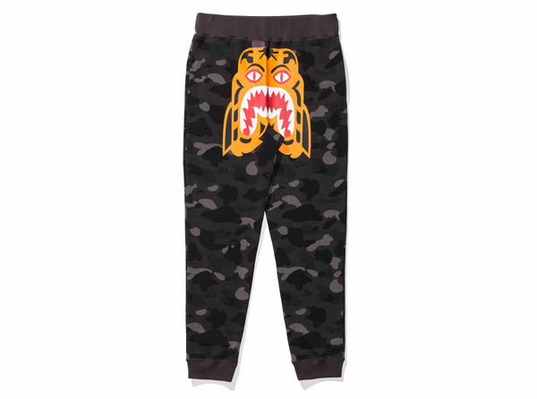f0b1035d9e BAPE COLOR CAMO TIGER SLIM SWEAT PANTS