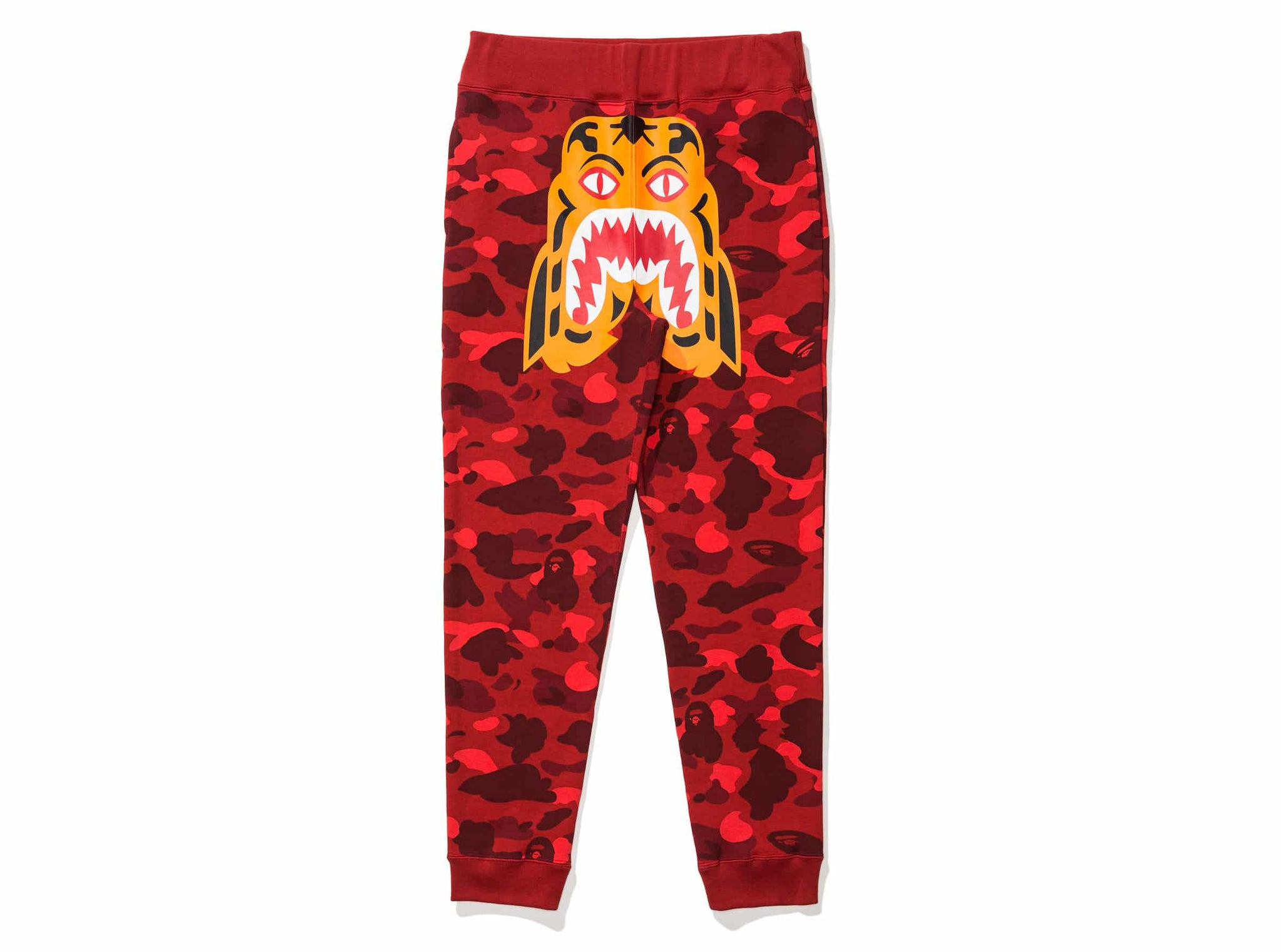 BAPE COLOR CAMO TIGER SLIM SWEAT PANTS