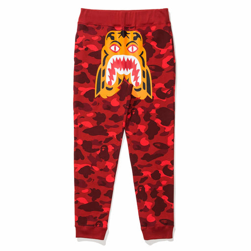BAPE COLOR CAMO TIGER SLIM SWEAT PANTS Image 3