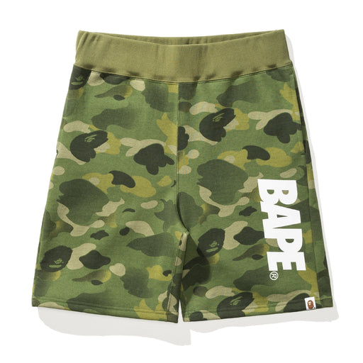 BAPE GRADATION CAMO SWEAT SHORTS Image 1