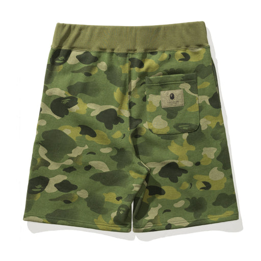 BAPE GRADATION CAMO SWEAT SHORTS Image 2