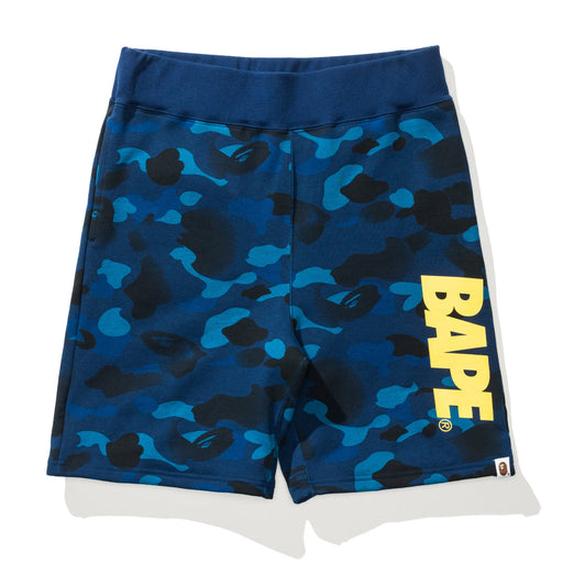 BAPE GRADATION CAMO SWEAT SHORTS Image 3