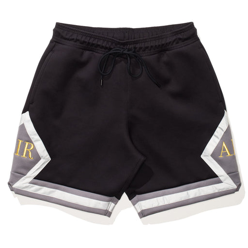 MJ REMASTERED DIAMOND SHORTS - BLACK/LIGHTBONE