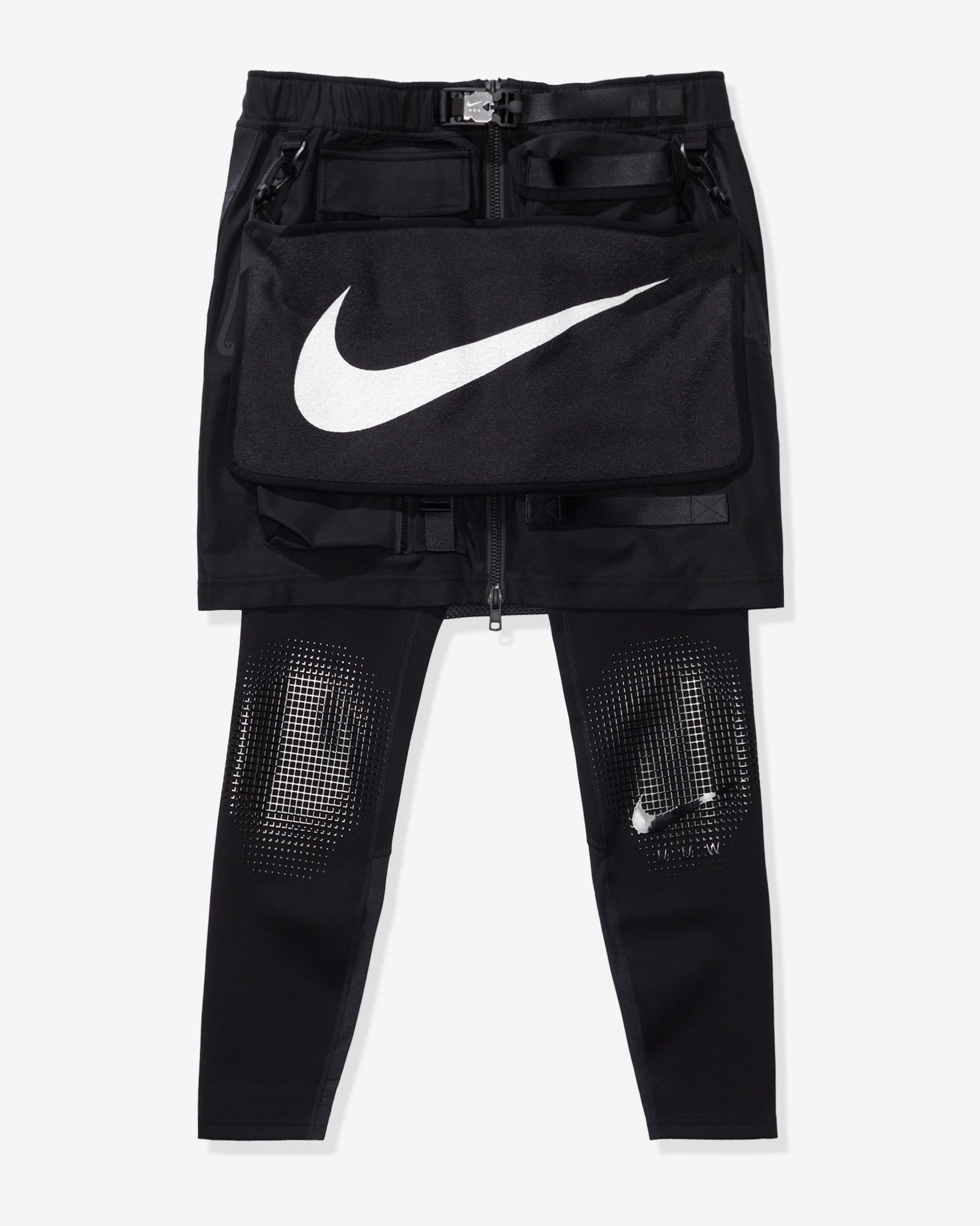 NIKE X MMW WOMEN'S 2.0 2-IN-1 SKIRT - BLACK