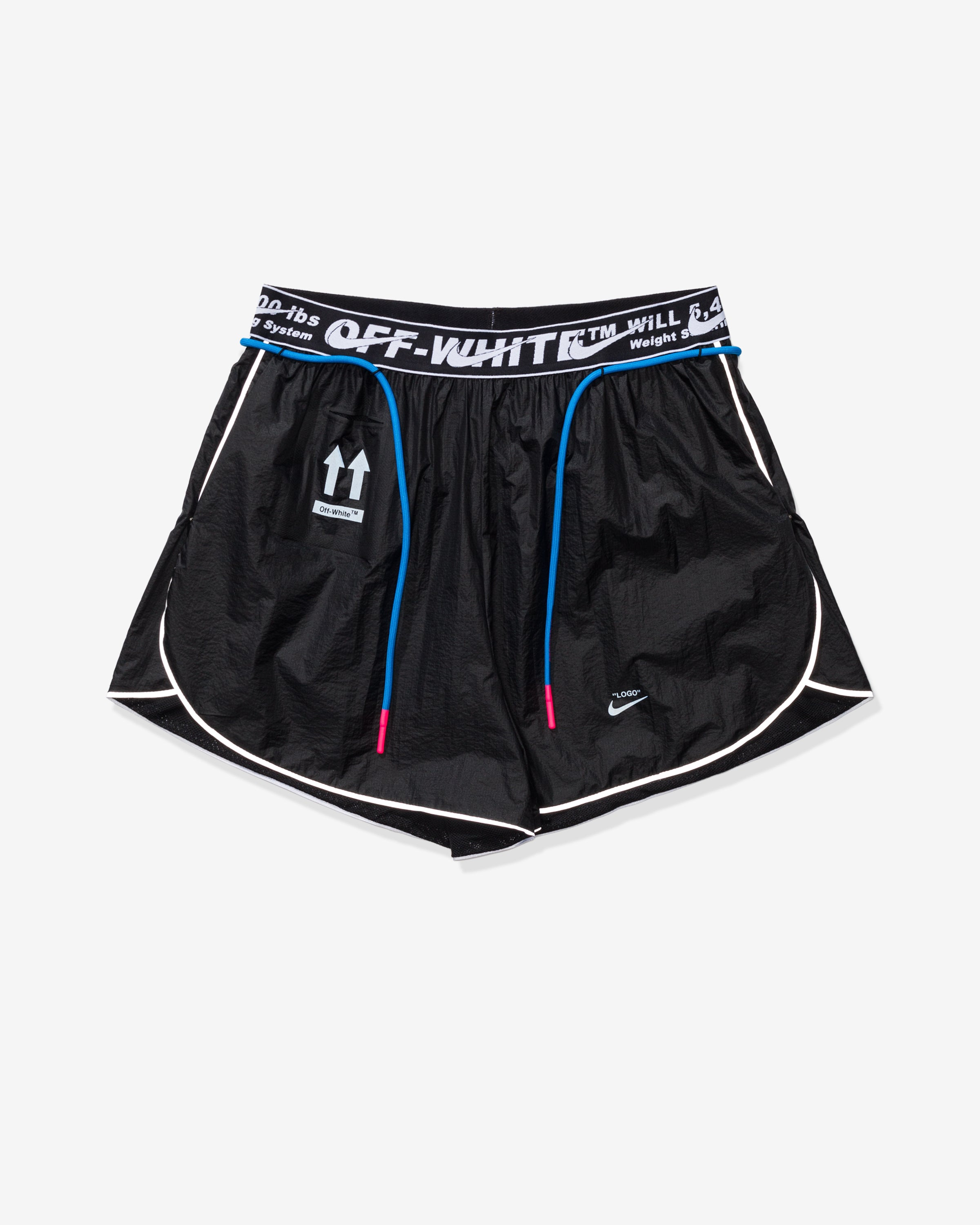 NIKE X OFF-WHITE WOMEN'S NRG SHORT #23 - BLACK